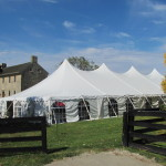 Century Tent Set-Up with Side Walls