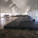Dance Floor and Stage with Stage Skiirts 2
