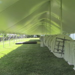 Inside Century Tent